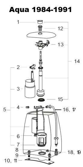 Fantastisk IFÖ Cera,Aqua,Cascade Ventilring WC - Rinkaby Rör PW43