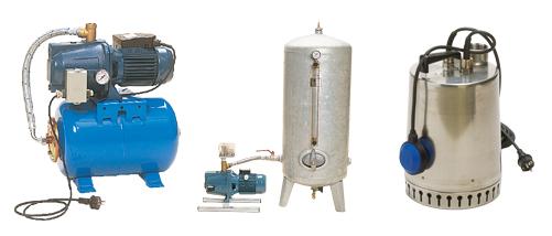 Vattenpump för sjövatten